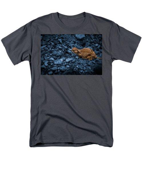Cyanotype Horned Toad Men's T-Shirt  (Regular Fit) by Bartz Johnson