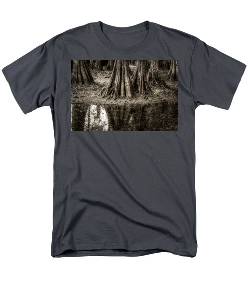 Cypress Island Men's T-Shirt  (Regular Fit) by Andy Crawford