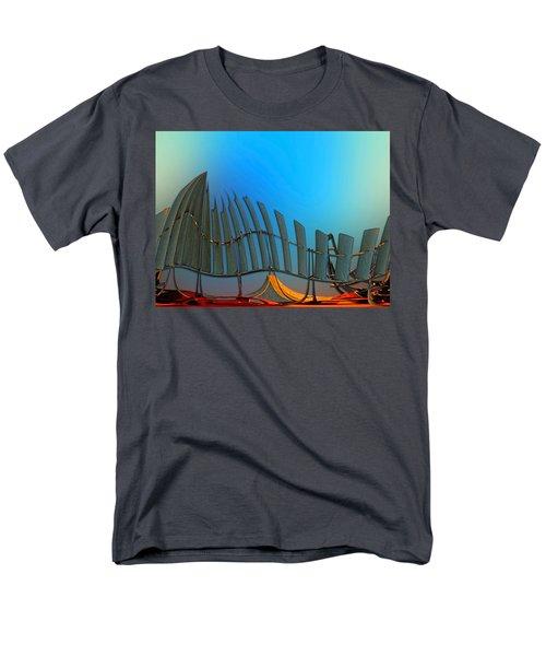 Da Vinci's Outpost Men's T-Shirt  (Regular Fit) by Wendy J St Christopher