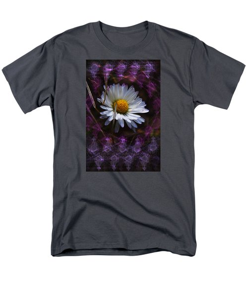 Men's T-Shirt  (Regular Fit) featuring the photograph Dainty Daisy by Adria Trail