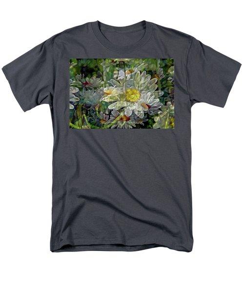 Daisy Mystique 8 Men's T-Shirt  (Regular Fit) by Lynda Lehmann