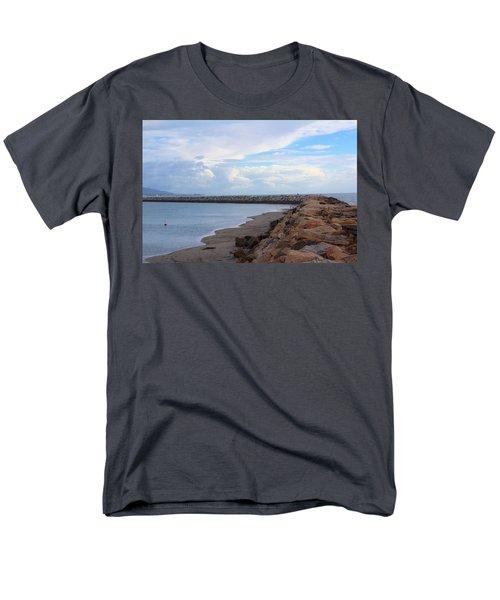 Dana Point  Men's T-Shirt  (Regular Fit) by Viktor Savchenko