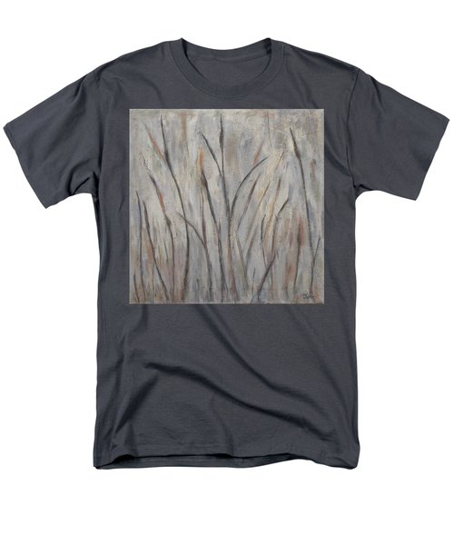 Dancing Cattails 2 Men's T-Shirt  (Regular Fit) by Trish Toro