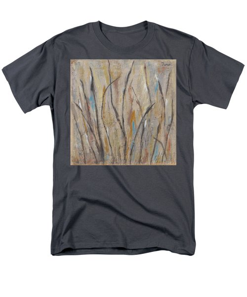 Dancing Cattails I Men's T-Shirt  (Regular Fit) by Trish Toro