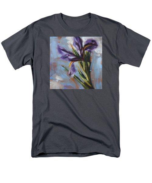 Dancing Iris Men's T-Shirt  (Regular Fit) by Tracy Male
