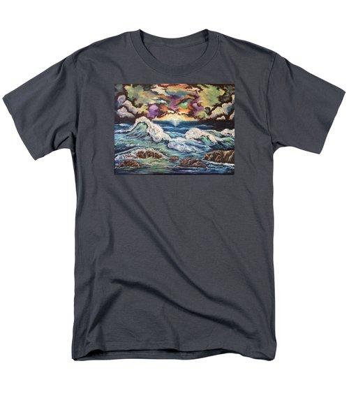 Dancing Skies 3 Men's T-Shirt  (Regular Fit) by Cheryl Pettigrew