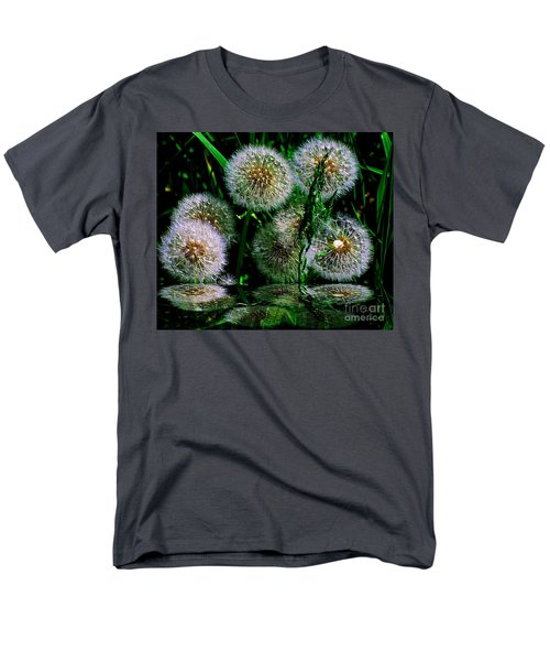 Men's T-Shirt  (Regular Fit) featuring the photograph Dandies  by Elfriede Fulda