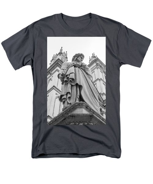 Men's T-Shirt  (Regular Fit) featuring the photograph Dante Alighieri by Sonny Marcyan