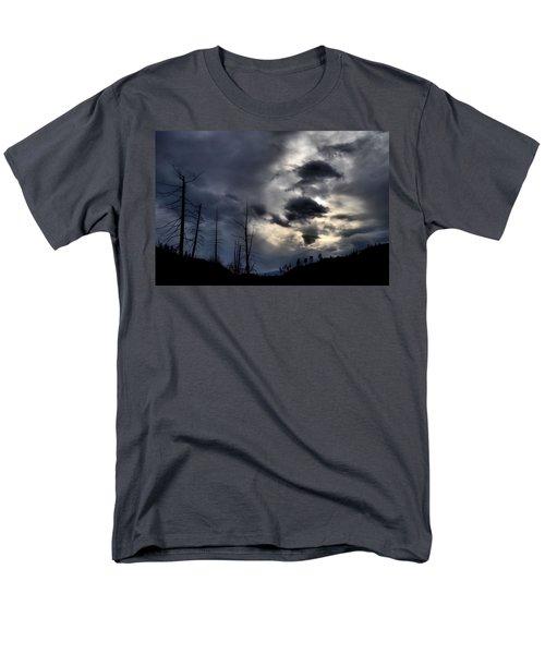 Men's T-Shirt  (Regular Fit) featuring the photograph Dark Clouds by Tara Turner