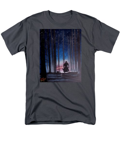 Men's T-Shirt  (Regular Fit) featuring the painting Dark Jedi by Dan Wagner