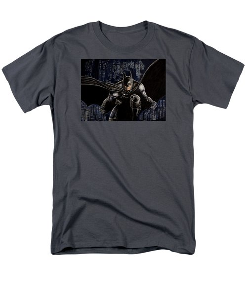 Men's T-Shirt  (Regular Fit) featuring the painting Dark Knight by Sylvia Thornton