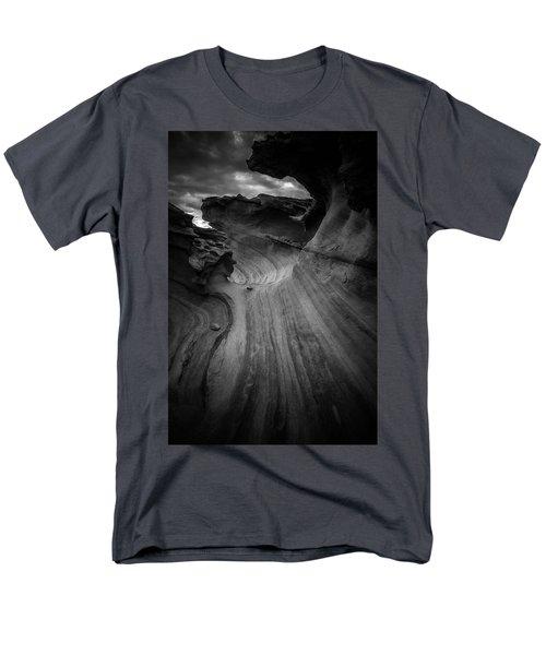 Dark Side Men's T-Shirt  (Regular Fit) by Bjorn Burton