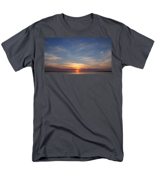Men's T-Shirt  (Regular Fit) featuring the photograph Dark Sunrise by  Newwwman