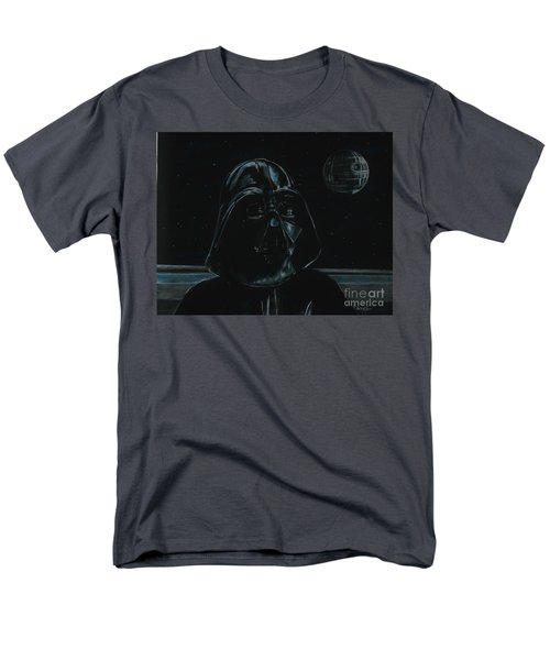 Men's T-Shirt  (Regular Fit) featuring the drawing Darth Vader Study by Meagan  Visser