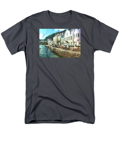 Bayards Cove Dartmouth Devon  Men's T-Shirt  (Regular Fit) by Charmaine Zoe