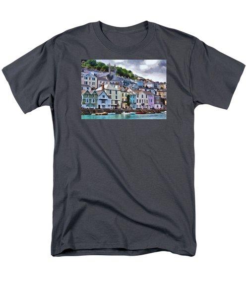 Men's T-Shirt  (Regular Fit) featuring the digital art Dartmouth Devon by Charmaine Zoe