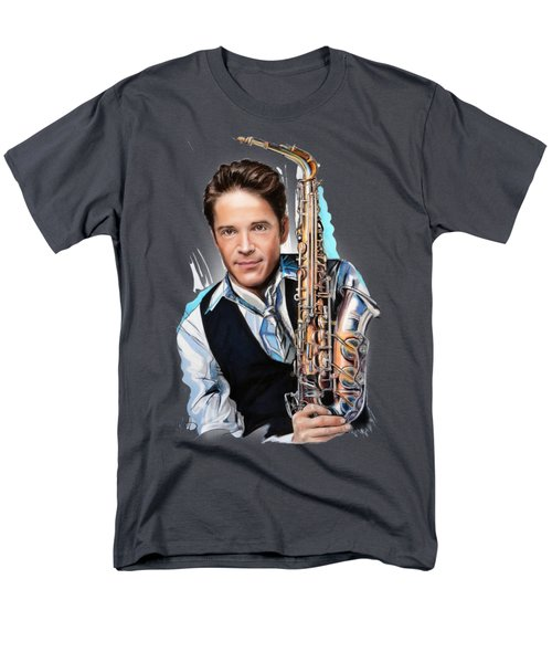 Dave Koz Men's T-Shirt  (Regular Fit) by Melanie D