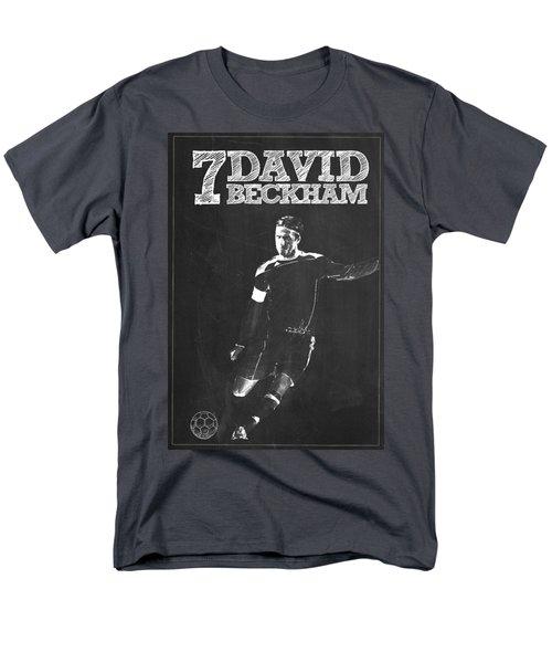 David Beckham Men's T-Shirt  (Regular Fit) by Semih Yurdabak