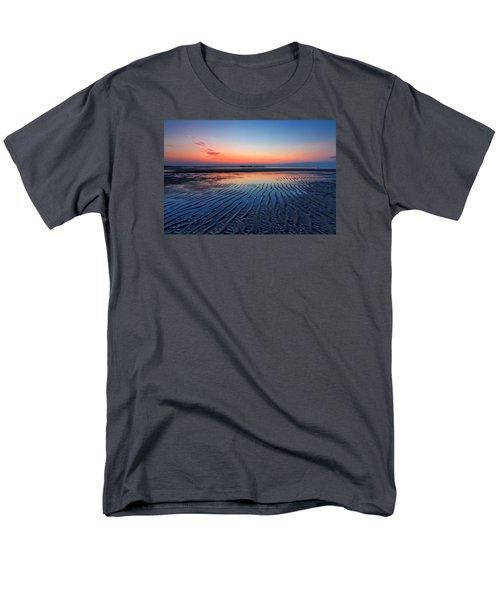 Men's T-Shirt  (Regular Fit) featuring the photograph Dawn Ripples by Alan Raasch