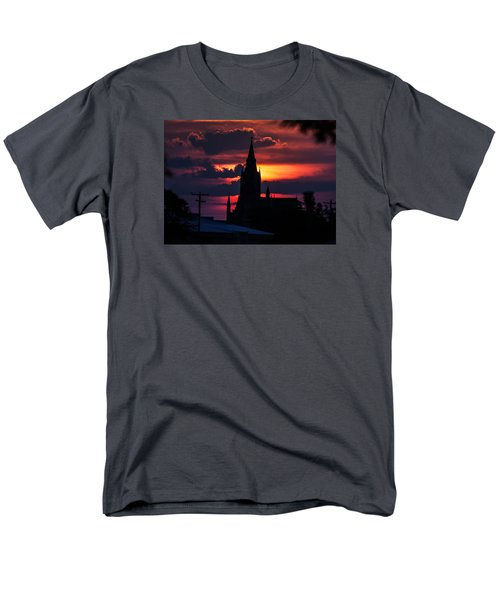 Men's T-Shirt  (Regular Fit) featuring the photograph Dawning Faith by Shirley Heier