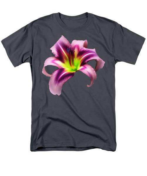 Daylily Star  Men's T-Shirt  (Regular Fit) by MTBobbins Photography