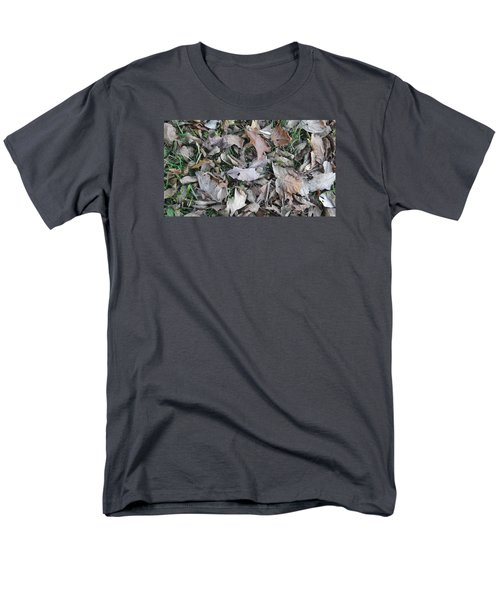 Men's T-Shirt  (Regular Fit) featuring the mixed media Dead Leaves by Don Koester