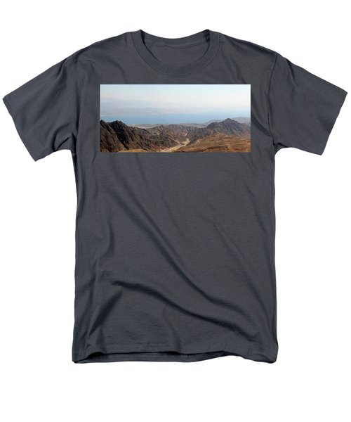 Men's T-Shirt  (Regular Fit) featuring the photograph Dead Sea-israel by Denise Moore