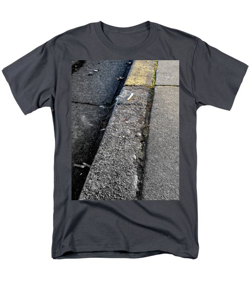 Men's T-Shirt  (Regular Fit) featuring the photograph Deadly Smoke by Marie Neder