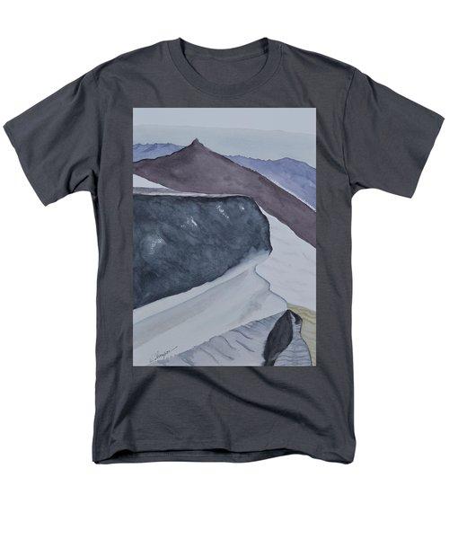 Death Valley Dunes At Sunrise Men's T-Shirt  (Regular Fit) by Warren Thompson