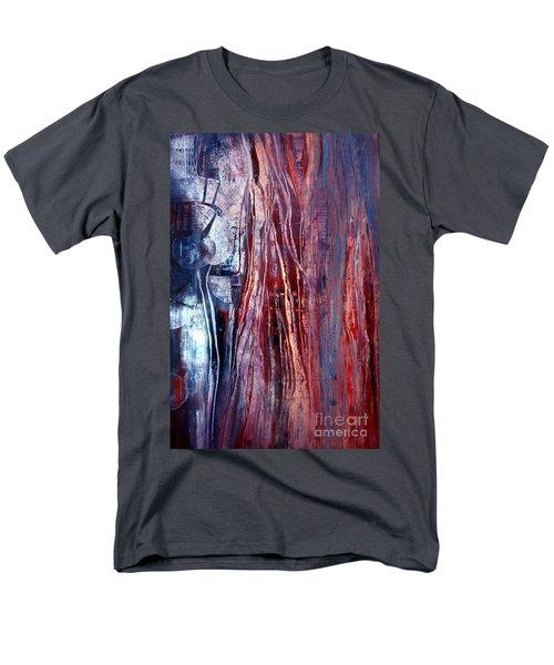 Decision Time Men's T-Shirt  (Regular Fit) by Valerie Travers
