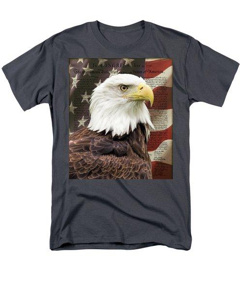 Declaration Of Independence Men's T-Shirt  (Regular Fit)