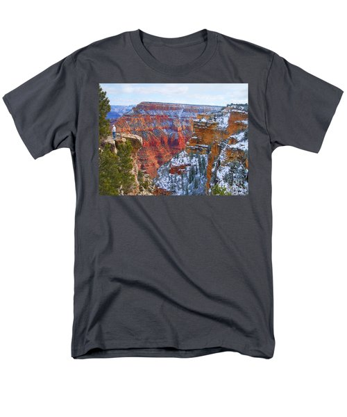Men's T-Shirt  (Regular Fit) featuring the photograph Deep And Wide by Roberta Byram