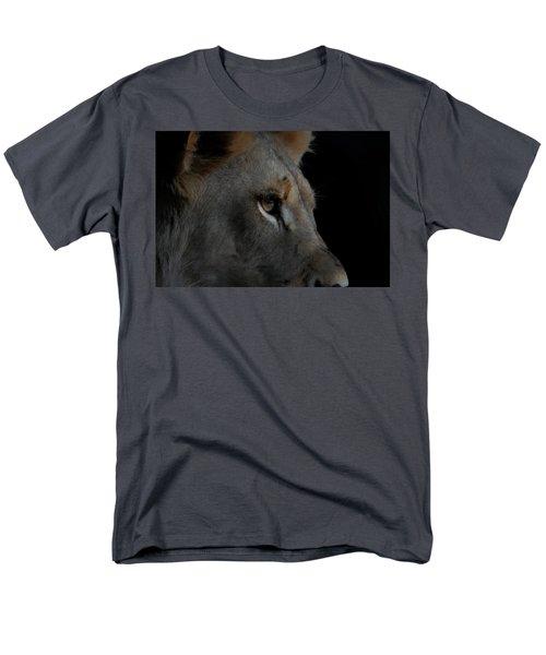 Men's T-Shirt  (Regular Fit) featuring the digital art Deep Thought by Ernie Echols