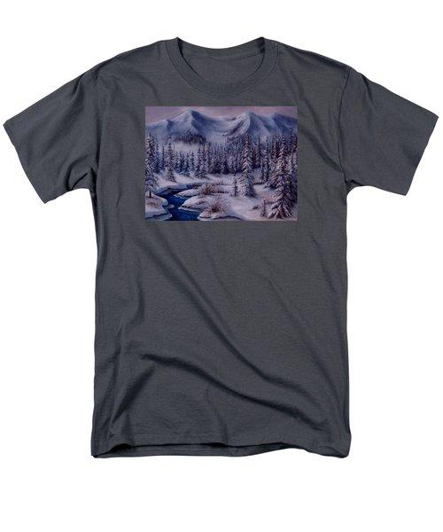Deer Creek Men's T-Shirt  (Regular Fit) by Katia Aho