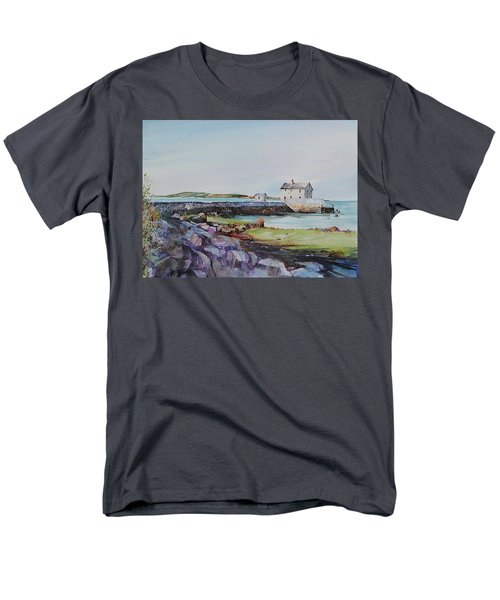 Delano's Wharf At Rock Nook Men's T-Shirt  (Regular Fit) by P Anthony Visco