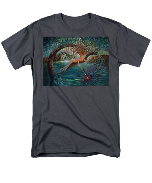 Deliverance Men's T-Shirt  (Regular Fit) by Claudia Goodell