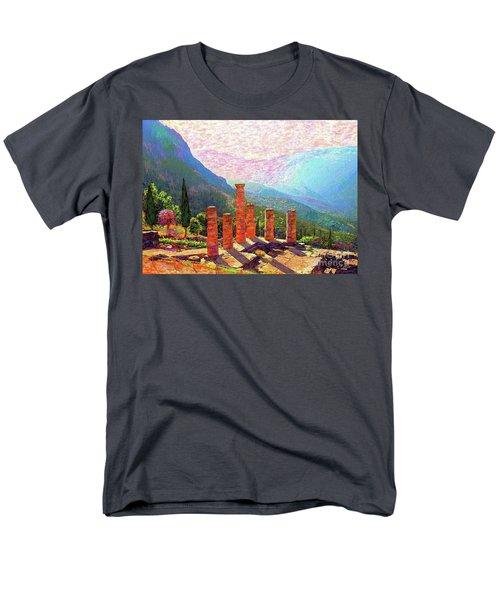 Delphi Magic Men's T-Shirt  (Regular Fit) by Jane Small