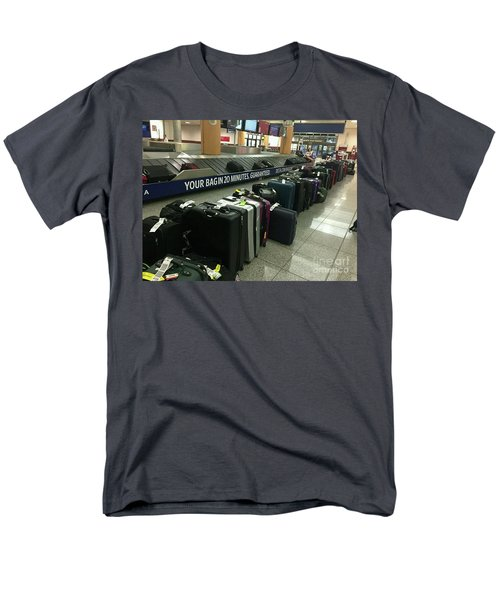 Men's T-Shirt  (Regular Fit) featuring the photograph Delta Irony by David Bearden