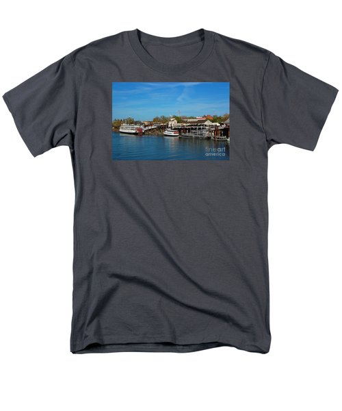 Men's T-Shirt  (Regular Fit) featuring the photograph Delta King by Debra Thompson