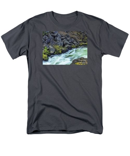 Deluge At The Falls Men's T-Shirt  (Regular Fit) by Nancy Marie Ricketts