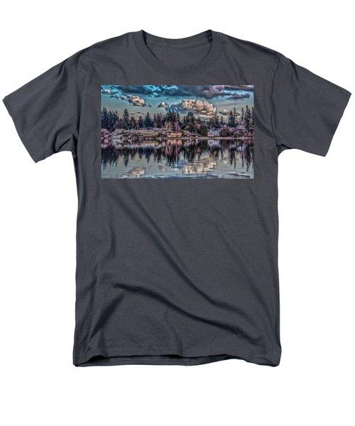 Men's T-Shirt  (Regular Fit) featuring the digital art Depot 8 by Timothy Latta