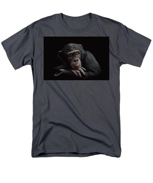 Depression  Men's T-Shirt  (Regular Fit) by Paul Neville