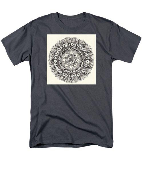 Des Tapestry Medallion Men's T-Shirt  (Regular Fit) by Kathy Sheeran