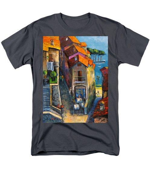 Desenzano Del Garda Men's T-Shirt  (Regular Fit) by Mikhail Zarovny
