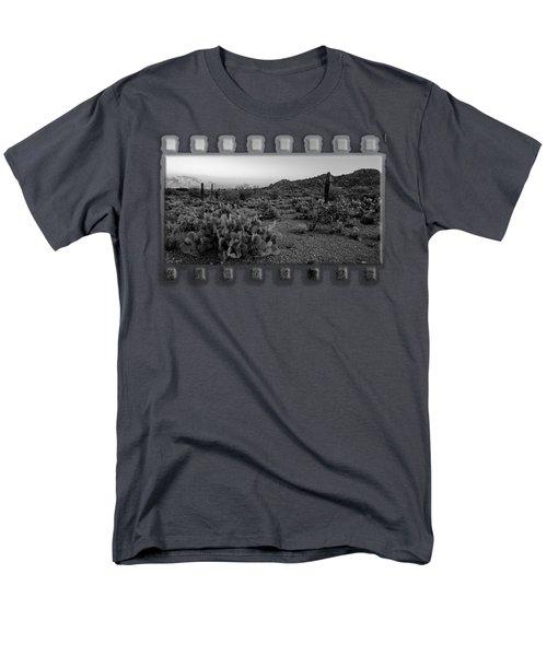Desert Foothills H30 Men's T-Shirt  (Regular Fit) by Mark Myhaver