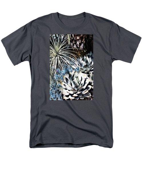 Men's T-Shirt  (Regular Fit) featuring the photograph Desert Garden by Judy Wolinsky