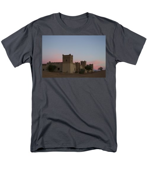 Desert Kasbah Morocco Men's T-Shirt  (Regular Fit) by Kathy Adams Clark