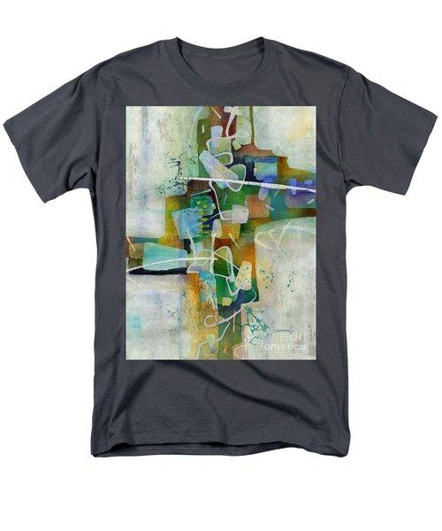 Desert Pueblo  Men's T-Shirt  (Regular Fit) by Hailey E Herrera