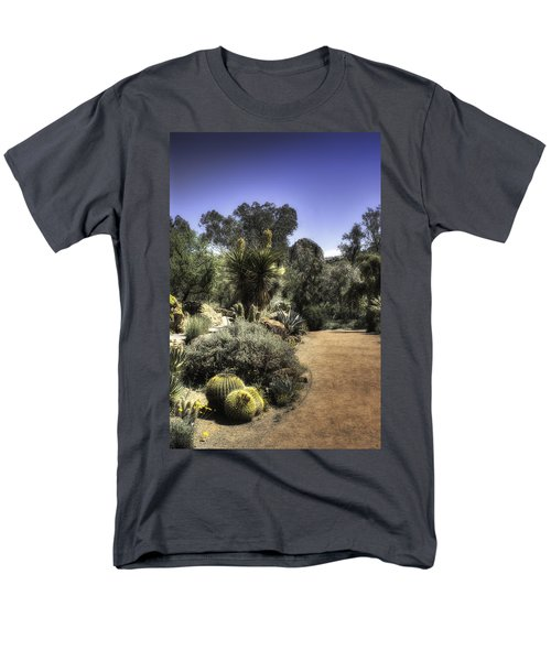 Men's T-Shirt  (Regular Fit) featuring the photograph Desert Walkway by Lynn Geoffroy