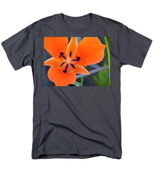 Desert Wildflower Men's T-Shirt  (Regular Fit) by Penny Lisowski